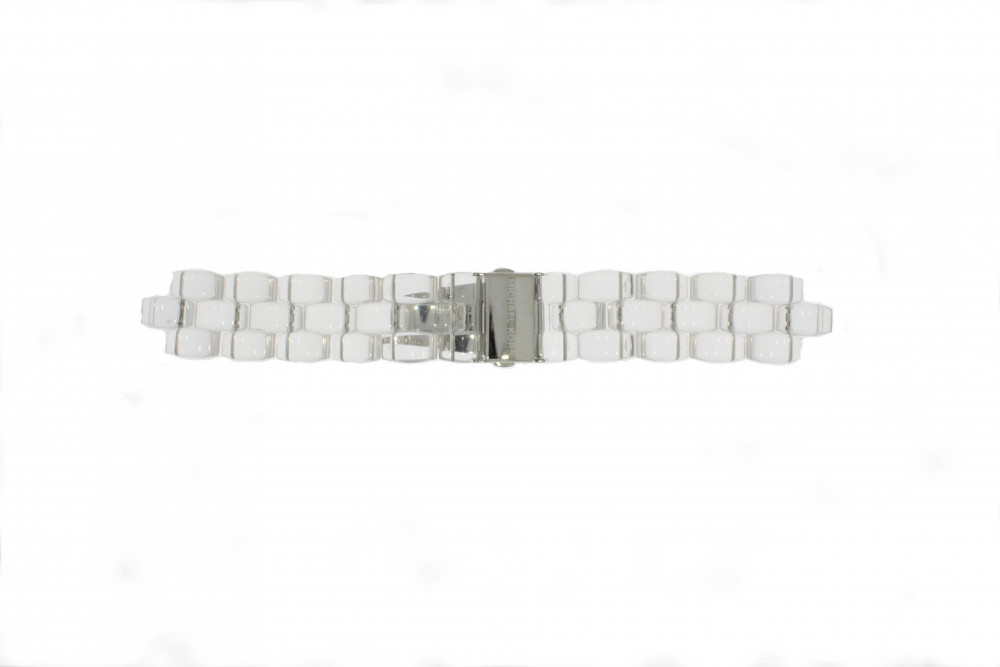 Uhrenarmband Michael Kors MK5235 Kunststoff Transparant 8mm