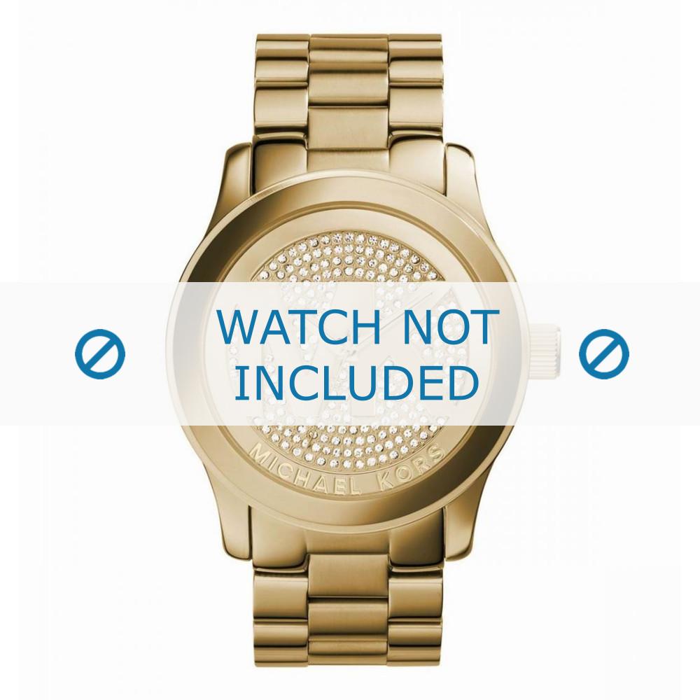 Michael Kors Uhrenarmband MK5706 251501 Metall Gold 24mm