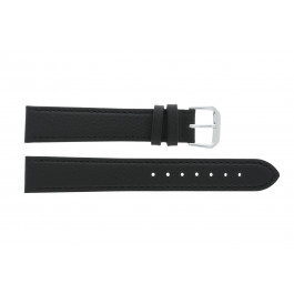Uhrenarmband Condor 054R.01 Leder Schwarz 10mm
