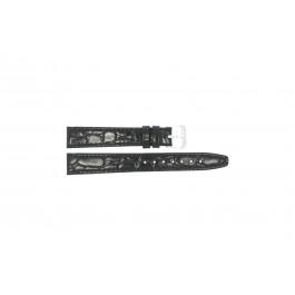 Uhrenarmband Condor 082R.01 Leder Schwarz 14mm