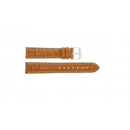 Uhrenarmband Universal 285R.27 Kroko leder Braun 24mm