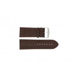 Uhrenarmband Universal 305R.02 Leder Braun 30mm
