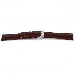 Uhrenarmband Universal D340 Leder Braun 14mm
