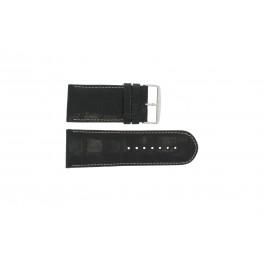 Uhrenarmband Universal 61324.24Z Leder Schwarz 24mm