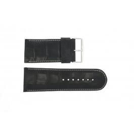 Uhrenarmband Universal 61324EB.10.36 Leder Schwarz 36mm