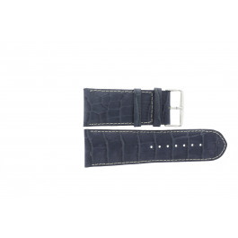 Uhrenarmband Universal 61324.00.36 Leder Blau 36mm
