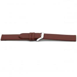 Uhrenarmband Universal D706 Leder Rot 14mm