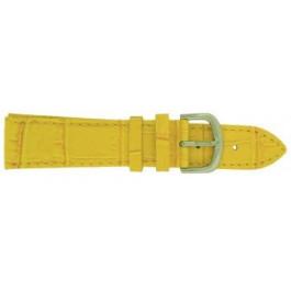 Davis Uhrenarmband gelb 18mm B0219
