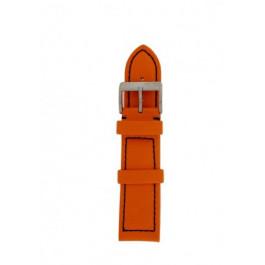 Uhrenarmband Davis BB1026O Leder Orange 22mm