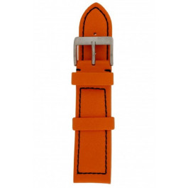 Uhrenarmband Davis BB1276 Leder Orange 24mm