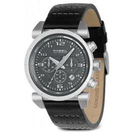 Uhrenarmband Fossil CH2494 Leder Schwarz 22mm