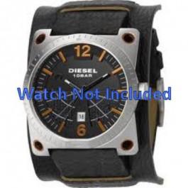 Uhrenarmband Diesel DZ1212 Leder Schwarz 28mm