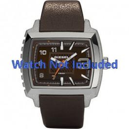Diesel Uhrenarmband DZ1364 Leder Dunkelbraun 25mm