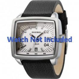 Uhrenarmband Diesel DZ1333 Leder Schwarz 29mm