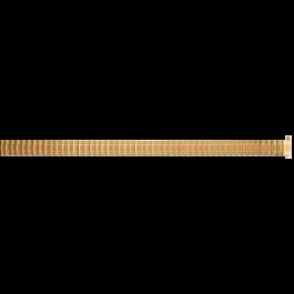 Uhrenarmband Universal EB607 Stahl Vergoldet 8-10mm