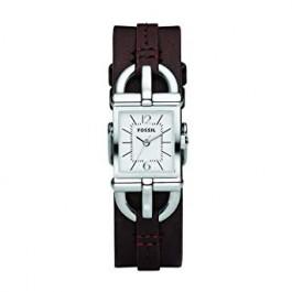 Uhrenarmband Fossil ES2637 Leder Braun 7mm