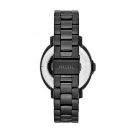 Fossil Uhrenarmband ES3451 Rostfreier Stahl Schwarz 18mm
