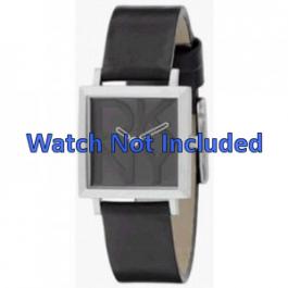 Uhrenarmband DKNY NY3419 Leder Schwarz