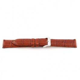 Uhrenarmband Universal F335 Leder Cognac 18mm