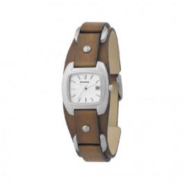 Uhrenarmband Fossil JR8897 Leder Braun 12mm