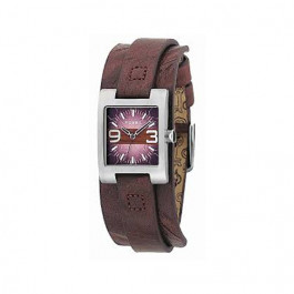 Uhrenarmband Fossil JR9515 Leder Braun 12mm