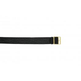 Uhrenarmband Universal PRLN.14 Nylon Schwarz 14mm