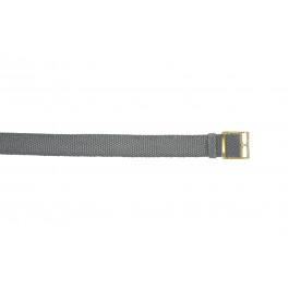 Uhrenarmband Universal PRLN.20.GRI Nylon Grau 20mm