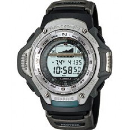 Uhrenarmband Casio PRT-41-1VT Kunststoff Schwarz 20mm