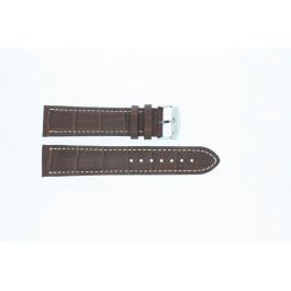 Uhrenarmband Universal 308R.02 Leder Braun 22mm
