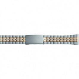 Uhrenarmband Universal DD100 Stahl Zweifarbig 20mm