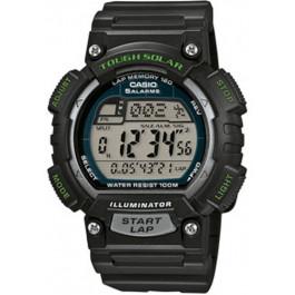 Uhrenarmband Casio STL-S100H-2AVEF Kunststoff Schwarz 18mm