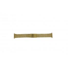 Morellato Uhrenarmband A02U03230250220099    Stahl Gold (Doublé) 18mm