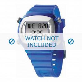 Adidas Uhrenarmband ADH1574 Kunststoff Blau