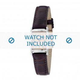 Uhrenarmband Armani AR0205 Leder Braun 14mm