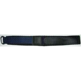 Uhrenarmband Condor KLITTENBAND 412R Navy Klettband Blau 20mm
