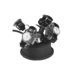 Uhrenbeweger - Geeignet für 4 Uhren - Schwarz