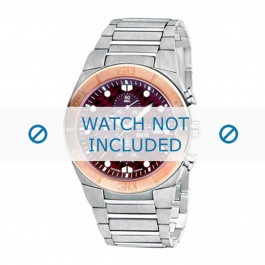 Boccia Uhrenarmband 3779-02 Titan Silber 30mm