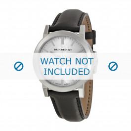 Uhrenarmband Burberry BU9008 / BU1772 / BU9022 / BU9009 Leder Schwarz 20mm
