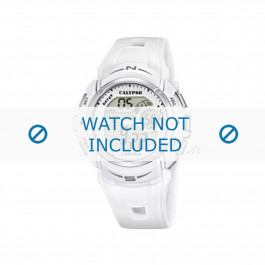 Calypso Uhrenarmband K5610-1 Kunststoff Weiss