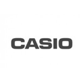 Casio Uhrenarmband 10364866 Gummi Blau 16mm