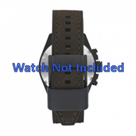 Uhrenarmband Fossil CH2804 Leder Braun 22mm