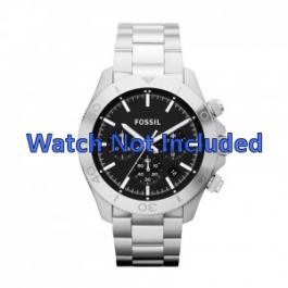 Uhrenarmband Fossil CH2848 / CH2849 Stahl Stahl 22mm