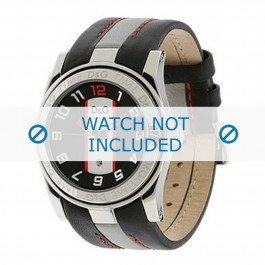 Dolce & Gabbana Uhrenarmband DW0216 Leder Schwarz
