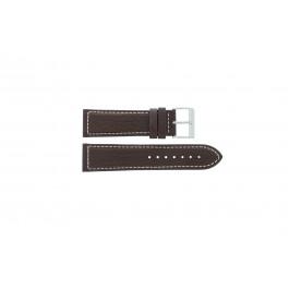 Uhrenarmband Davis BB0453 Leder Braun 24mm