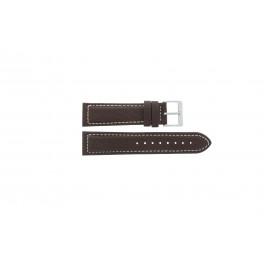 Uhrenarmband Davis BB1021 / BB1023 Leder Braun 22mm