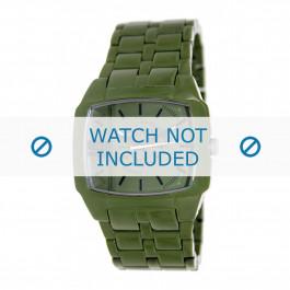 Diesel Uhrenarmband DZ1550 Kunststoff Grün 21mm
