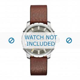 Diesel Uhrenarmband DZ1724 Leder Braun 20mm