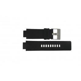 Uhrenarmband Diesel DZ4146 Leder Schwarz 16mm