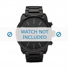 Diesel Uhrenarmband DZ4207 Metall Schwarz 26mm