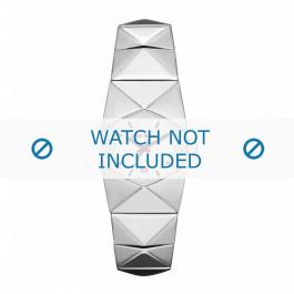 Diesel Uhrenarmband DZ5326 Rostfreier Stahl Silber 19mm